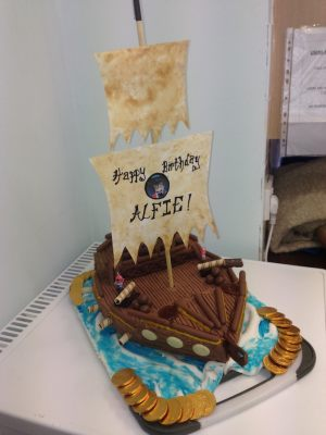 Alfie's birthday cake