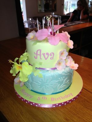 Ava's birthday cake
