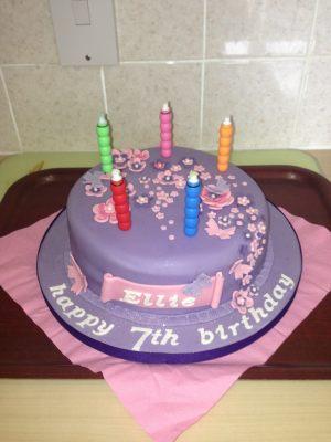 Ellie's birthday cake