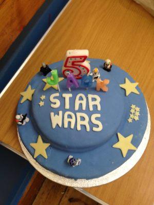 Jack's birthday cake