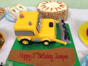 Jasper's birthday cake