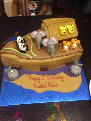 Kushal's birthday cake