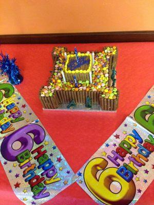 Kyran's birthday cake