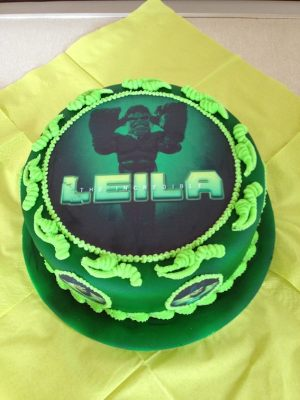 Leila's birthday cake