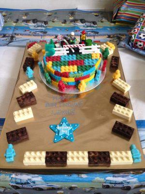 Lewis's birthday cake
