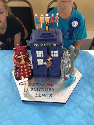 Lewis birthday cake