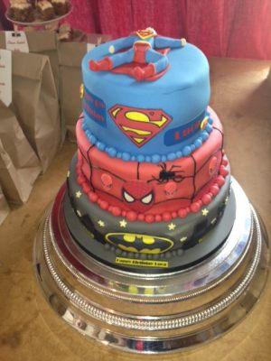 Lucas's birthday cake