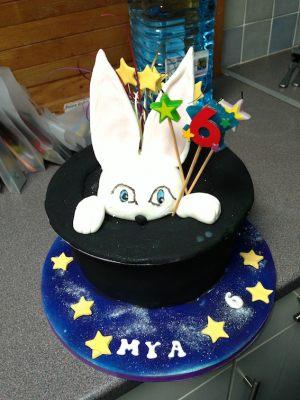 Mya's birthday cake