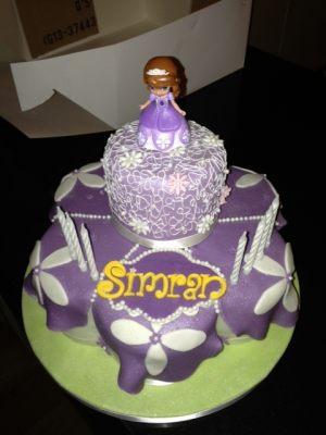 Simran's birthday cake