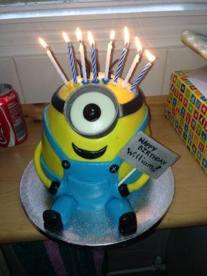 William's 8th birthday cake